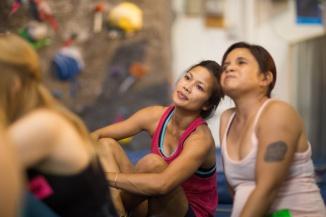 girl+beta+women+rock+climbing