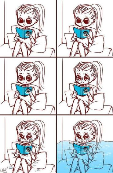 bookcrying