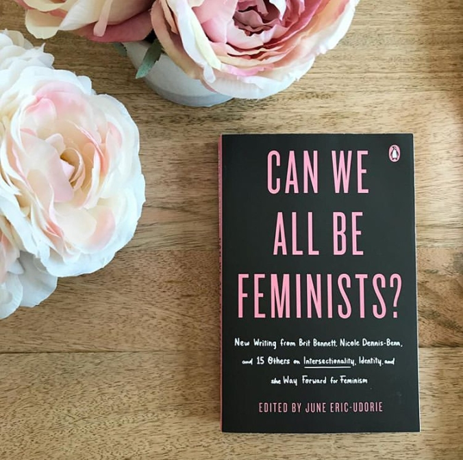 """Can We All be Feminists"" book cover"